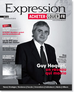 Couverture Magazine Expression numero 13 - Doit-on être optimiste pour 2010 ?