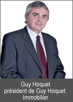 Guy Hoquet président de Guy Hoquet Immobilier