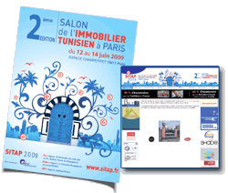 Salon de l´Immobilier Tunisien à Paris